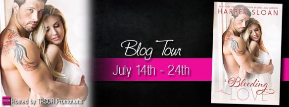 bleeding love blog tour