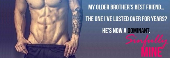 FB banner temp cover Sinfully Mine