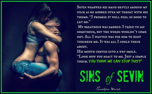 sins of sevin book tour