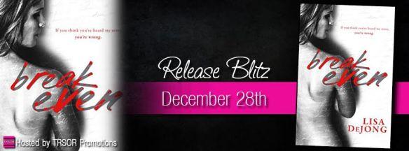 break even release blitz